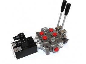 Моноблочние гидрораспределители с электро управлением
