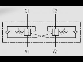 контрбалансировочные (тормозные) клапаны